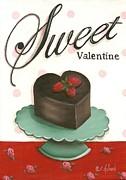 Sweet Valentine  Print by Catherine Holman