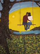 Swing Paintings - Sweet Whispers by Jeffrey Koss