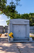 Metairie Cemetery Prints - Sweet Yellow Memories Print by Steve Harrington