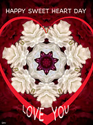 Sweetheart Card Print by Debra     Vatalaro