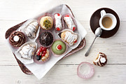 Irresistible Prints - Sweets and espresso Print by Ina Peters