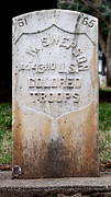 Colored Troops Photos - Swepson Tombstone 43rd U. S.  Colored Troops 2013 James Warren by James Warren