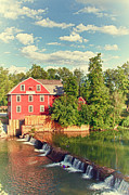 Grist Mill Posters - Swimming At War Eagle Poster by Robert Frederick