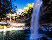 Hamilton Pool Photos - Swimming Hole by Rob Weisenbaugh