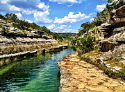 Anna Tesch Metal Prints - Swimming in the Frio Metal Print by Anna Tesch