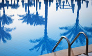 Pleasure Photo Originals - Swimming pool in touristic resort during summer time by T Monticello