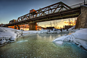 Jakub Sisak - Swing Bridge Frozen River