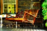 Front Porch Art - Swing Me by Lois Bryan