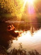 Gail Matthews - Swinging at the pond