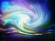Bright Art - Swirl of sky by Lilia D