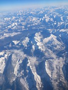 Bav Patel - Swiss Alps from Above