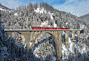 Mike Rampino - Swiss Bridge - Snow...