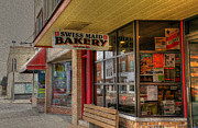 Swiss Maid Bakery Print by David Bearden