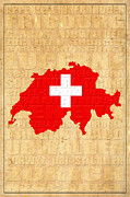 Zug Metal Prints - Switzerland Metal Print by Andrew Fare