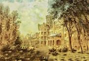 Sybillas Palace Print by Mo T