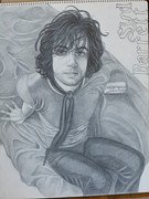 Cambridge Drawings - Syd Barrett by Martha Cervantes