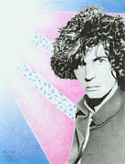 Pink Floyd Drawings Posters - Syd Barrett Poster by Melissa Spears