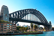 Sydney Harbour Prints - Sydney Harbour Bridge Print by Melody and Michael Watson