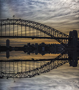 Sydney Harbour Prints - Sydney Harbour late afternoon Print by Sheila Smart