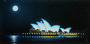 Sydney Skyline Art - Sydney Opera House  by Nikola Peranovic