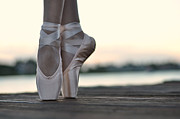 Dance Shoes Prints - Sylph Print by Laura  Fasulo
