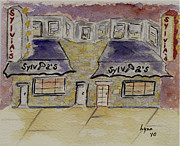Soul Food Prints - Sylvias Soul Food Restaurant Print by Lynn Lieberman
