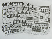 Notes Drawings - Symbols by Lenore Senior