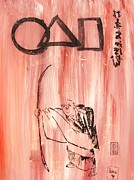 Roberto Painting Originals - Symbols Of Zen by Pg Reproductions