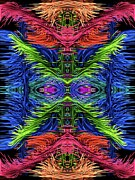 Amanda Collins Art - Symmetric  by Amanda Collins