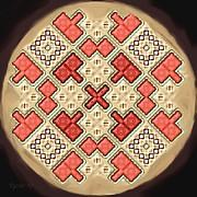 Symmetrica 311 Print by Nedunseralathan R