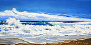 Beaches Art - Synchronized Sensations by Shelia Kempf