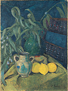 Famous Artists - Synchrony in Green by Paul Serusier