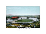 Stadium Digital Art - Syracuse - NewYork - Syracuse University Stadium - 1901 by John Madison