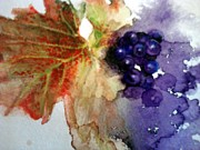 Syrah Painting Prints - Syrah Print by Susan Richardson-Kaumans
