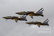 Featured Acrylic Prints - T-50 Golden Eagles From The Republic Acrylic Print by Ofer Zidon