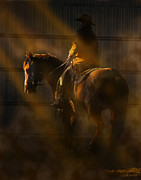 Chiaroscuro Digital Art - T Hunter  by Judy Wood