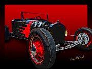 Chas Sinklier - T Rat Rod Poster