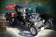 Ford Model T Car Prints - T with Trailer Print by Bill Dutting