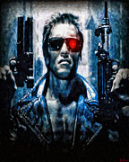 T800 Terminator Print by Joe Misrasi