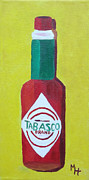 Tabasco Brand Pepper Sauce Print by Margaret Harmon