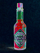 Diners Prints - Tabasco Sauce 20130402 Print by Wingsdomain Art and Photography