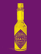 Diners Prints - Tabasco Sauce 20130402grd Print by Wingsdomain Art and Photography