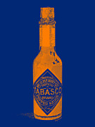 Diners Prints - Tabasco Sauce 20130402grd2 Print by Wingsdomain Art and Photography