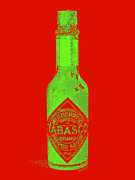 Diners Digital Art - Tabasco Sauce 20130402grd3 by Wingsdomain Art and Photography
