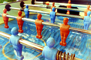 Flu Photos - Table football by Fabrizio Troiani