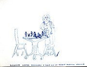 Waiter Originals - Table Full of People by Joseph Wetzel