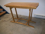Featured Sculptures - Table On Skids by Angus MacIver