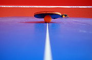 Indoor Sport Posters - Table Tennis Poster by Michal Bednarek