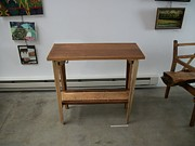 Angus MacIver - Table w/ Maple Shelf