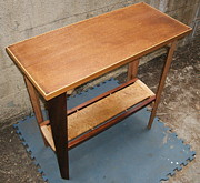 Angus MacIver - Table w/ shelf